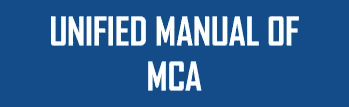 Unified Manual of MCA